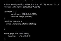 nginx+django一台机器上运行多个站点
